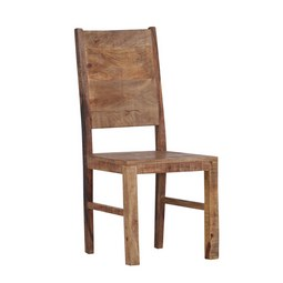 Stuhl in Braun - Naturfarben, LIFESTYLE, Holz (45/100/52cm) - Zandiara