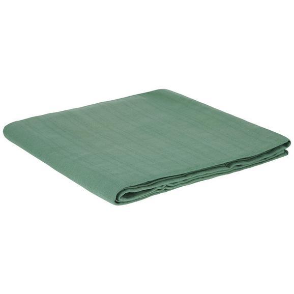 Pregrinjalo Solid One -ext- - zeleni žad, tekstil (140/210cm)