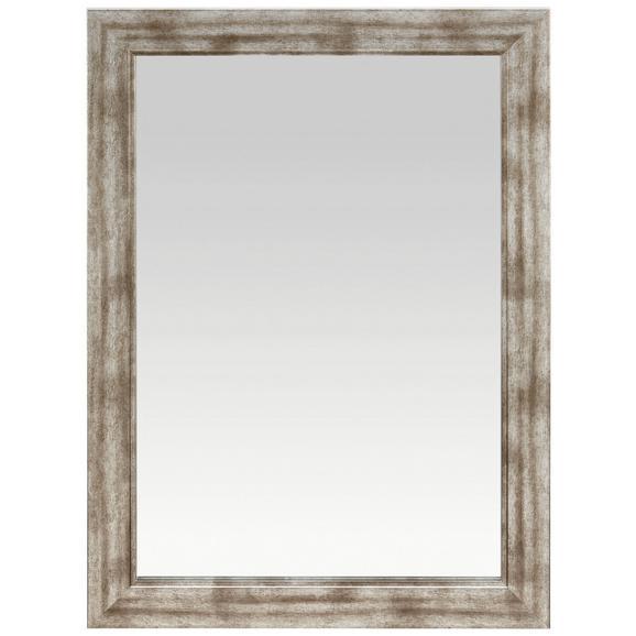 Wandspiegel Silberfarben - Silberfarben/Nickelfarben, Holzwerkstoff (50/70cm) - Mömax modern living
