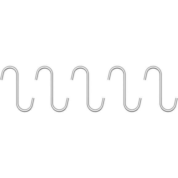 Cârlig Chester - culoare crom, metal (7cm) - Premium Living