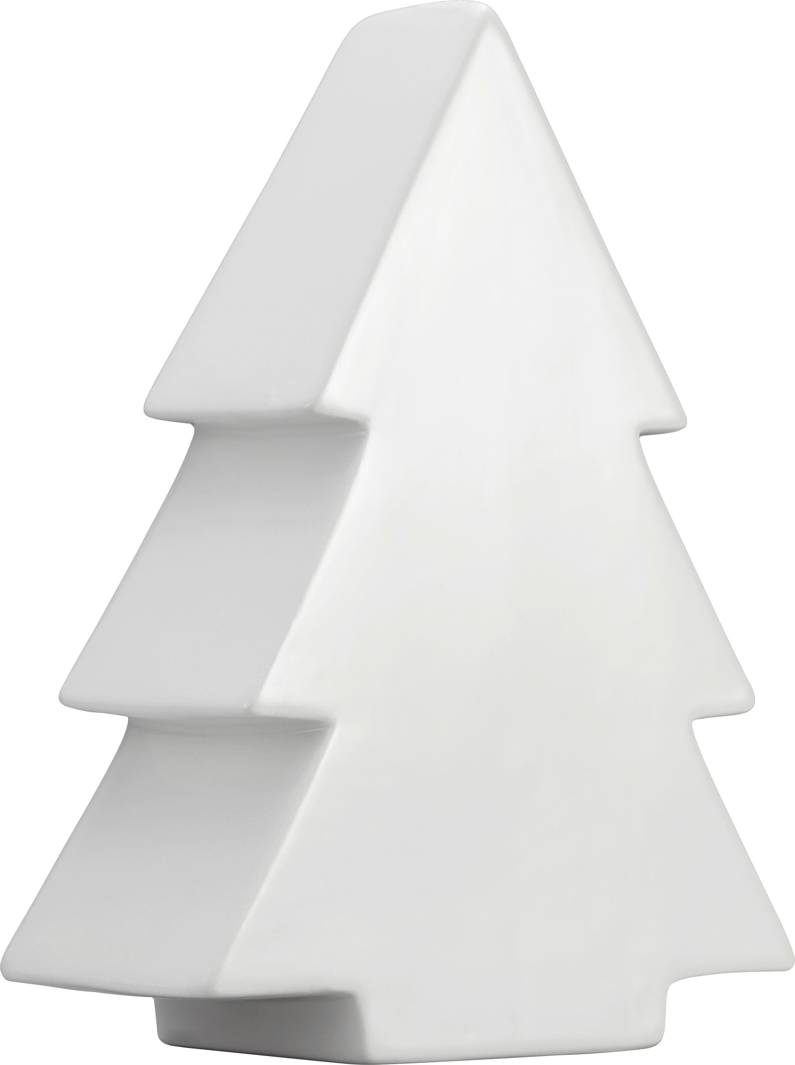 Dekor Fa Luise - fehér, kerámia (20cm) - MÖMAX modern living