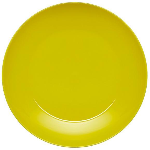 Lapostányér Sandy - sárga, konvencionális, kerámia (26,8/2,42cm) - MÖMAX modern living