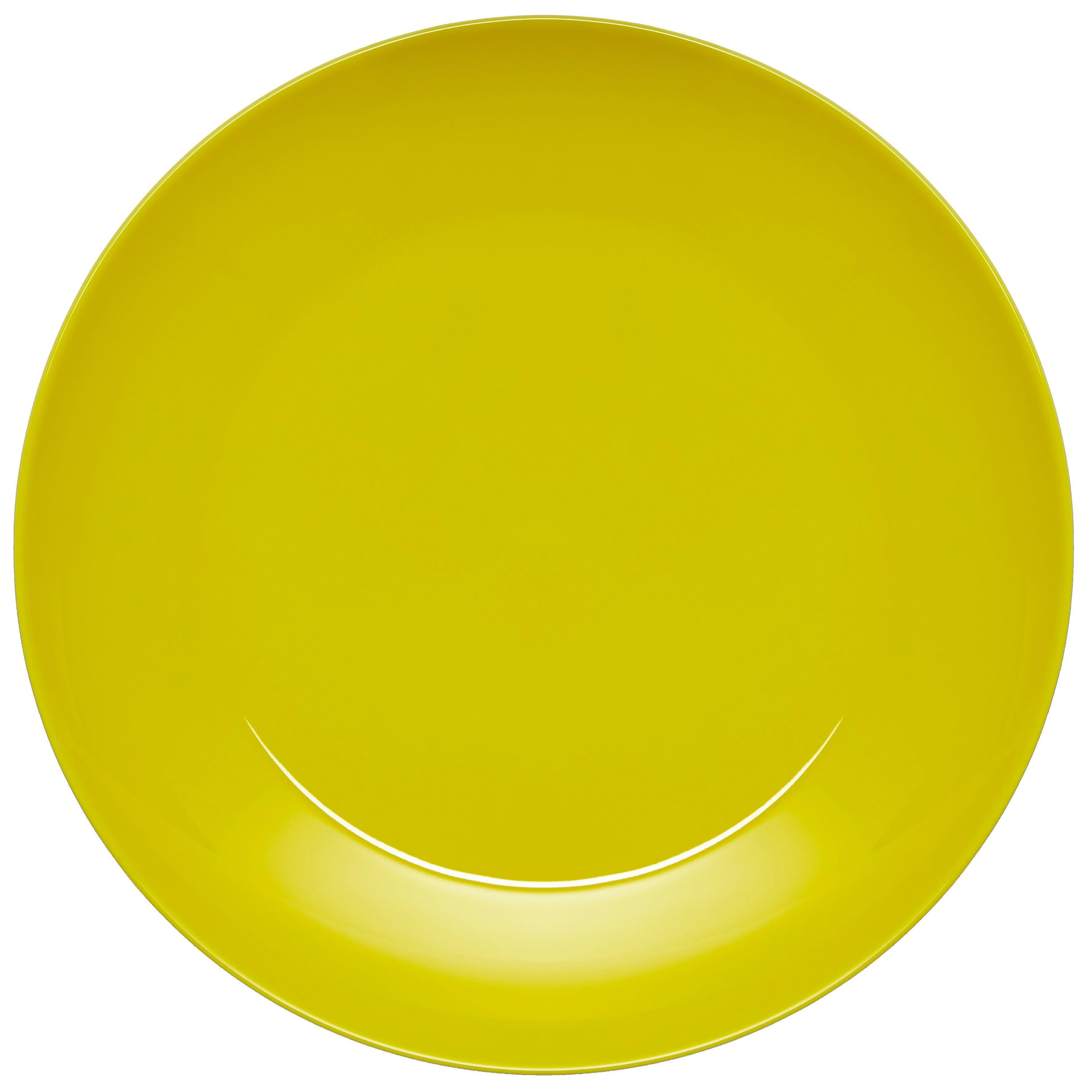 Speiseteller Sandy in Gelb aus Keramik - Gelb, KONVENTIONELL, Keramik (26,8/2,42cm) - MÖMAX modern living