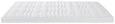 Topper Gelschaumtopper 80x200cm - Weiß, Textil (80/200cm)