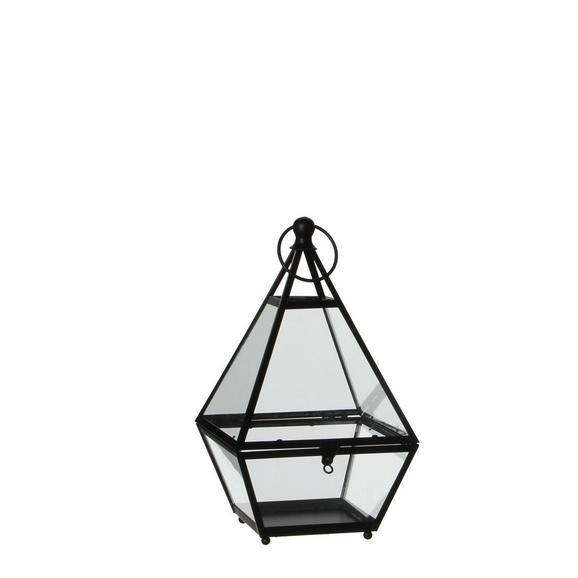 Laterna Diamanta - prozorna, Moderno, kovina/steklo (17/16/28cm) - Mömax modern living