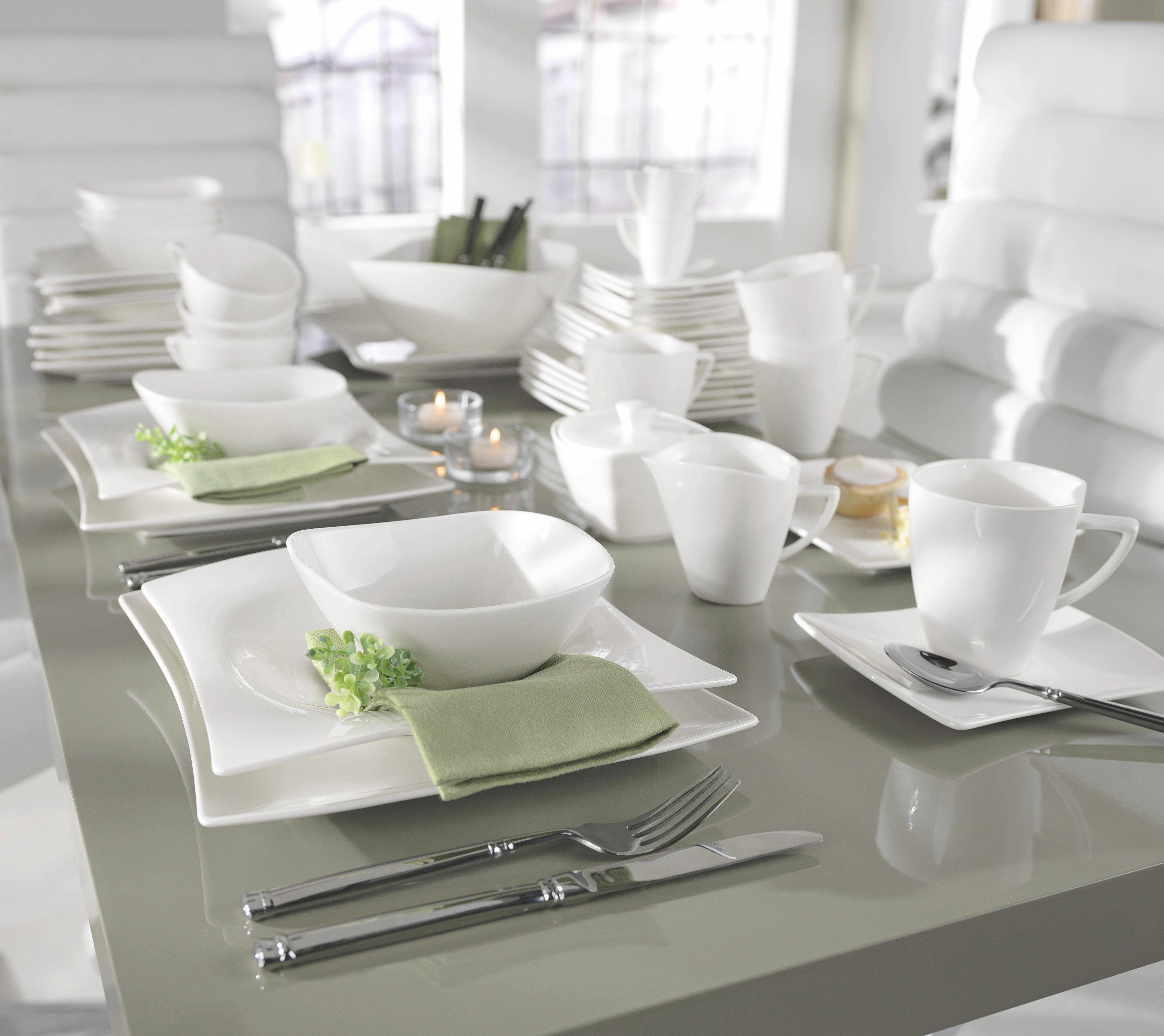 Müzlis Tál Tacoma - fehér, Lifestyle, kerámia (14,2/6,8/14,2cm) - premium living