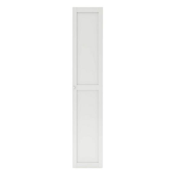 Tür in Weiß - Weiß, MODERN, Holzwerkstoff (45,4/232,6/1,8cm) - Based