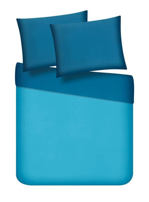 Ágyneműhuzat-garnitúra Belinda - Olajkék/Türkiz, Textil (200/200cm) - Premium Living