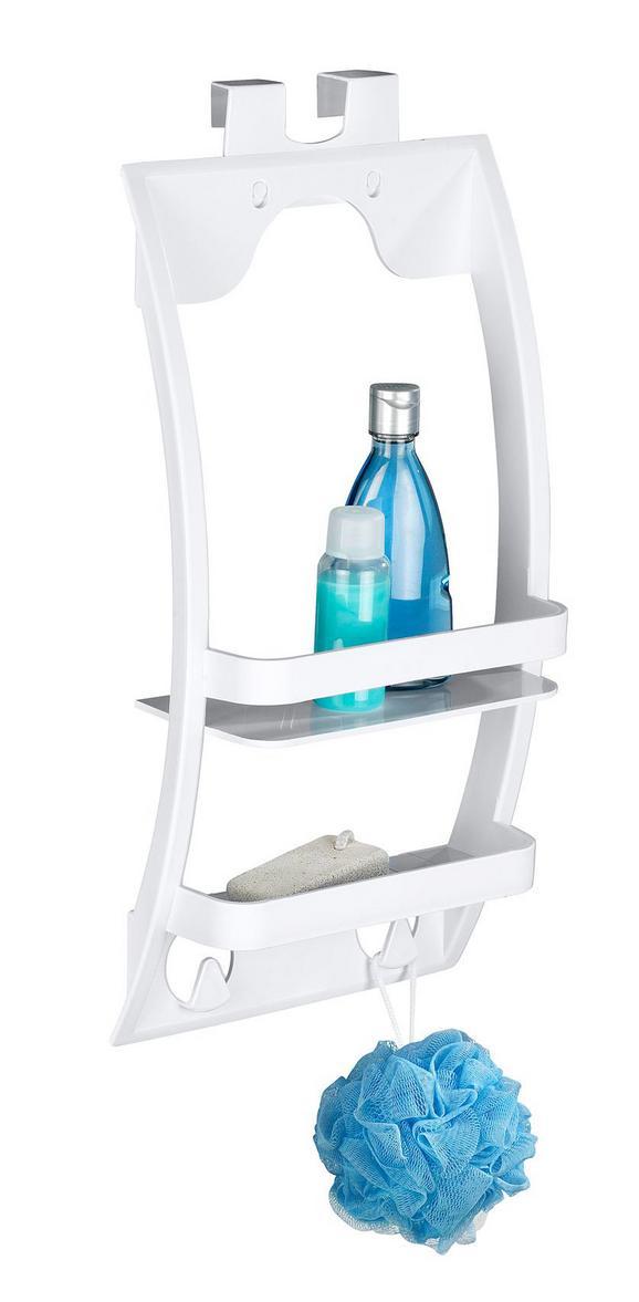 Hängeaufbewahrung Weiß - Weiß, MODERN, Kunststoff (26/54,5/11,5cm) - Mömax modern living