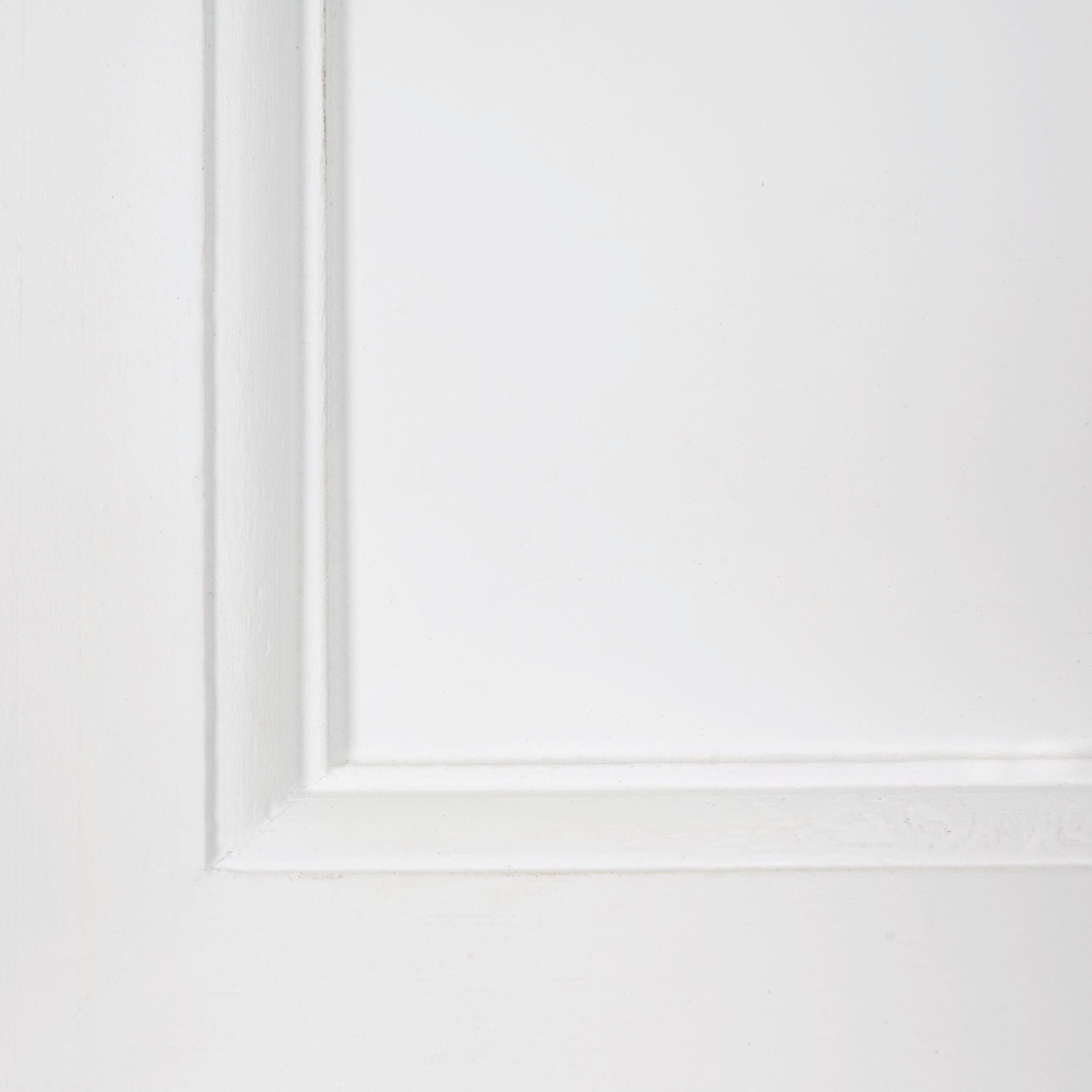 Konsolentisch Cookie 80x40cm - Naturfarben/Weiß, Holz/Metall (80/78/40cm) - PREMIUM LIVING
