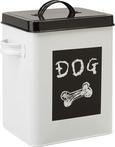 Škatla S Pokrovom Dog - črna/bela, Romantika, kovina (18/15,5/23cm) - Mömax modern living