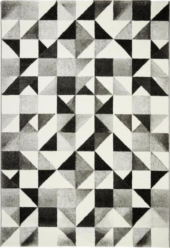 Szőnyeg Neapel - bézs/fekete, Lifestyle, textil (160/230cm) - MÖMAX modern living