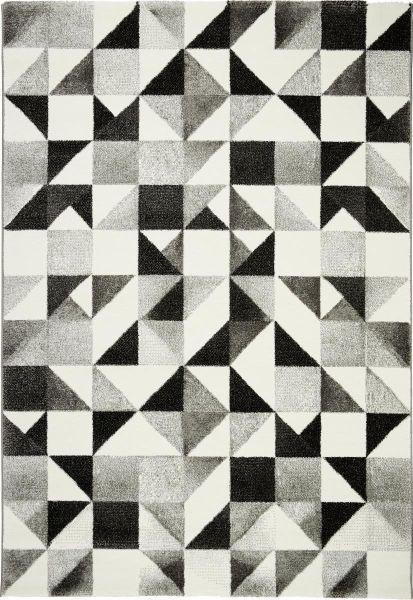 Webteppich Neapel - Beige/Schwarz, LIFESTYLE, Textil (120/170cm) - MÖMAX modern living
