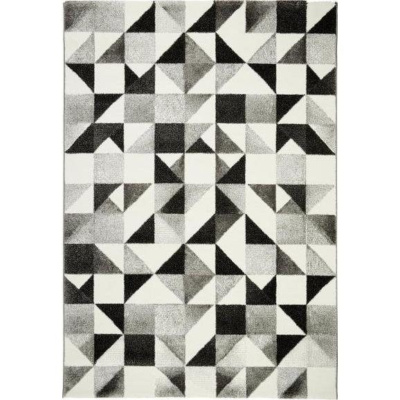 Webteppich Neapel ca. 160x230cm - Beige/Schwarz, LIFESTYLE, Textil (160/230cm) - Mömax modern living