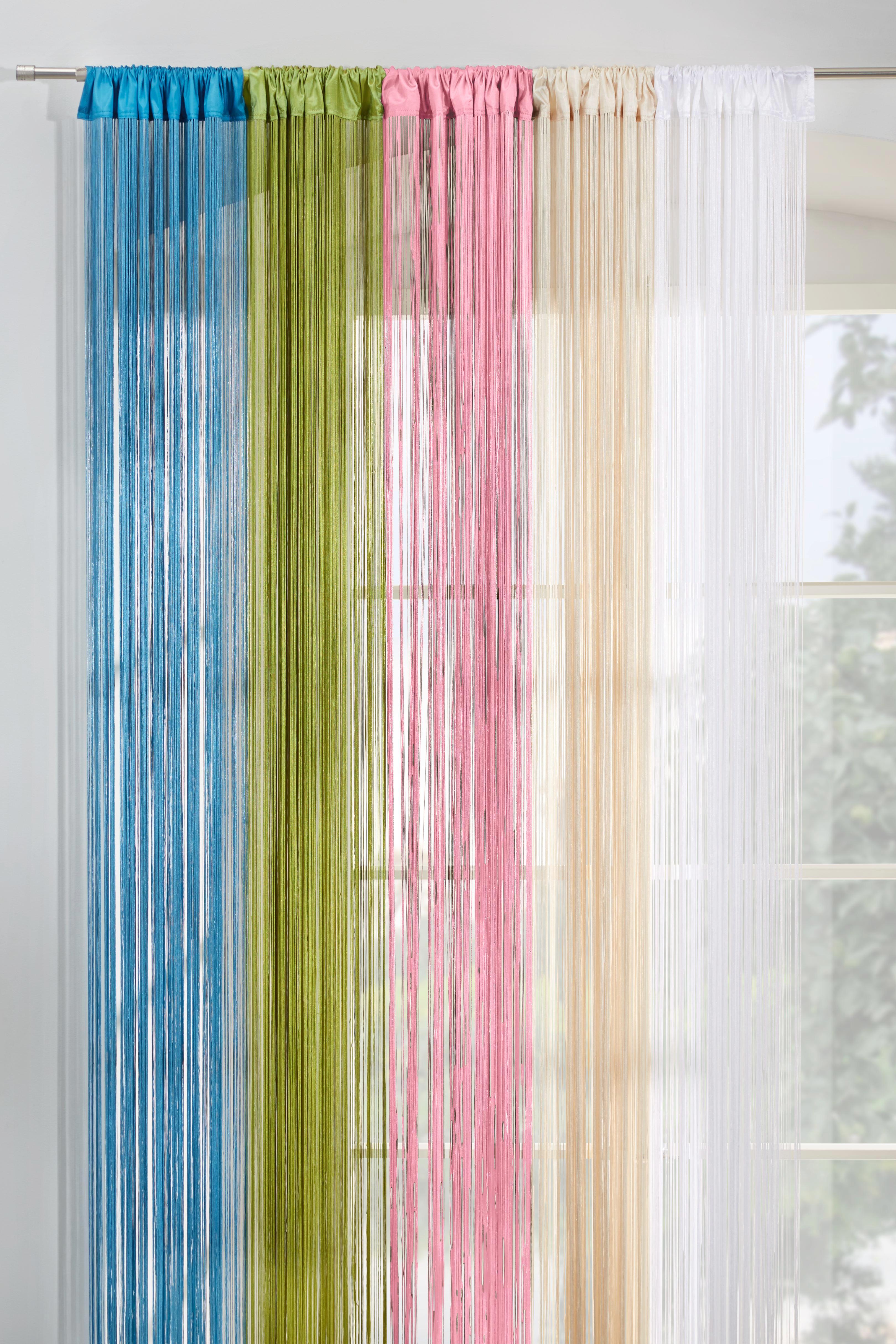 Zsinórfüggöny Victoria - krém, textil (90/245cm) - MÖMAX modern living