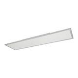 LED-Deckenleuchte Cornelius max. 40 Watt - Weiß, MODERN, Kunststoff (30/120cm) - Premium Living