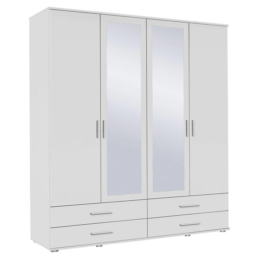 Kleiderschrank Alpinweiß/Spiegel