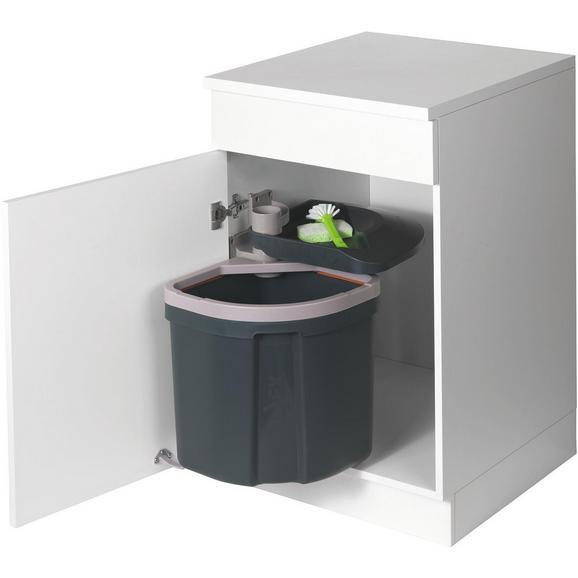 Abfallsammler 780026 - Grau, Kunststoff - Sedia