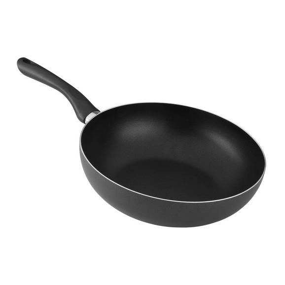 Vok Tom - črna, Konvencionalno, kovina/umetna masa (28/8cm) - Mömax modern living