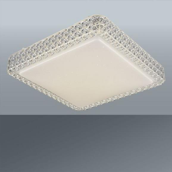 LED-Deckenleuchte Heino, max. 12 Watt - Weiß, MODERN, Kunststoff/Metall (28/28/7cm) - MÖMAX modern living