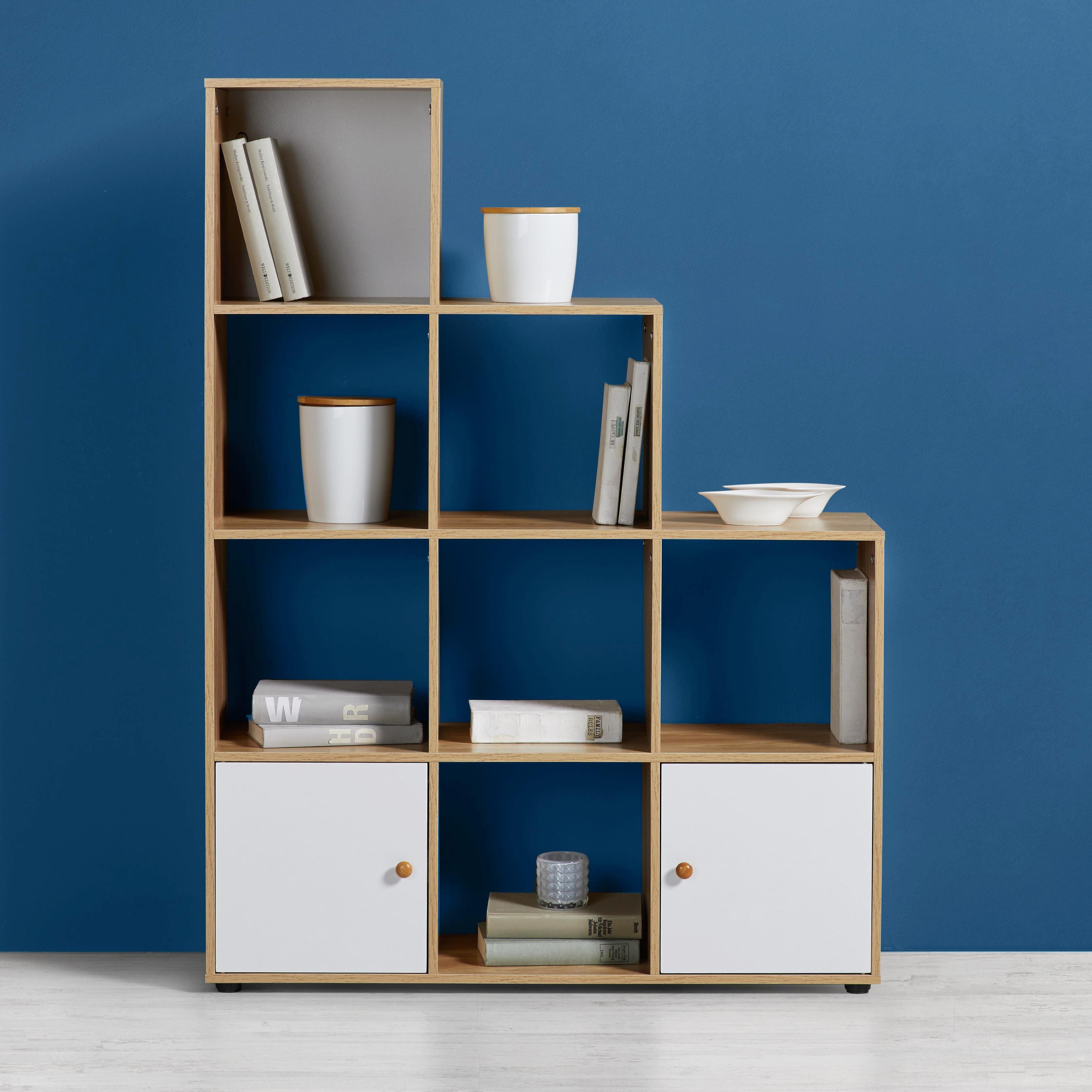 Fein Bucherregal Aus Holz Originelles Design Info New Zeitgenössisch ...