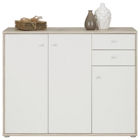Komoda Tempra - aluminij/siva, Moderno, kovina/umetna masa (106/86/34cm) - Mömax modern living