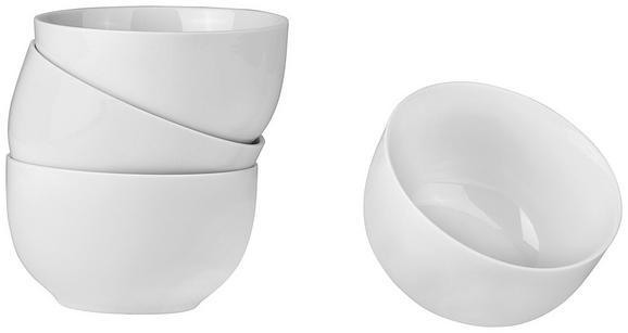 Müslischale Billy in Weiß, 4 Stück - Weiß, MODERN, Keramik (13/7,4cm) - Mömax modern living
