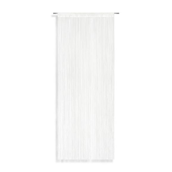 Fadenstore String Weiß - Weiß, Textil (90/245cm)