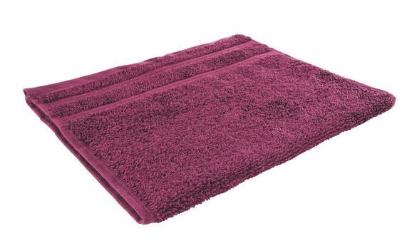 Gästetuch Melanie In Fuchsia - Lila, Textil (30/50cm)