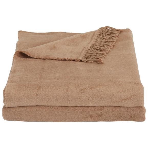 Wohndecke El Sol Taupe - Hellbraun, Textil (150/200cm) - Mömax modern living