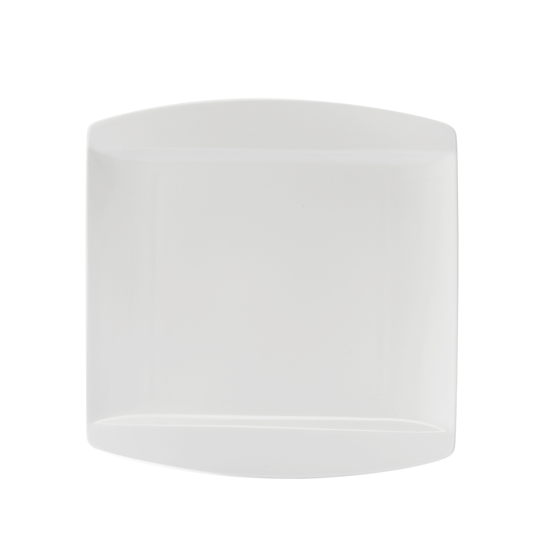 Desertni Krožnik Pura - bela, Trendi, keramika (20/20cm) - MÖMAX modern living