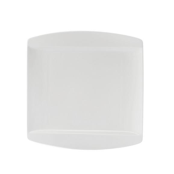 Dessertteller Pura in Weiß - Weiß, LIFESTYLE, Keramik (20/20cm) - premium living