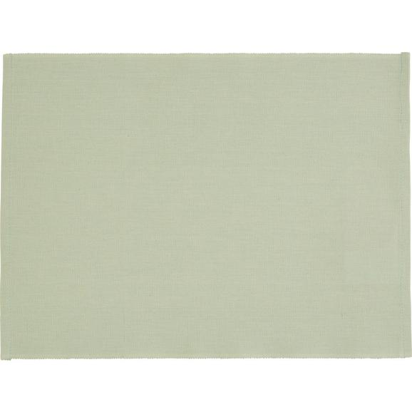 Pogrinjek Tine - zelena, Romantika, tekstil (33/45cm) - Mömax modern living