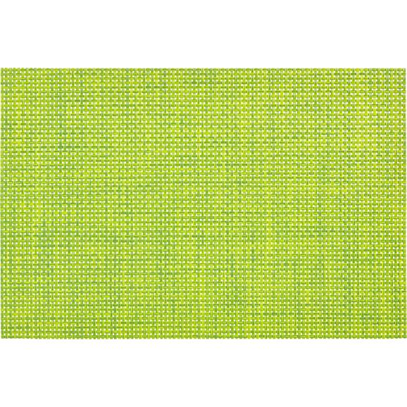 Tischset Stefan Grün - Grün, Kunststoff (30/45cm) - Mömax modern living