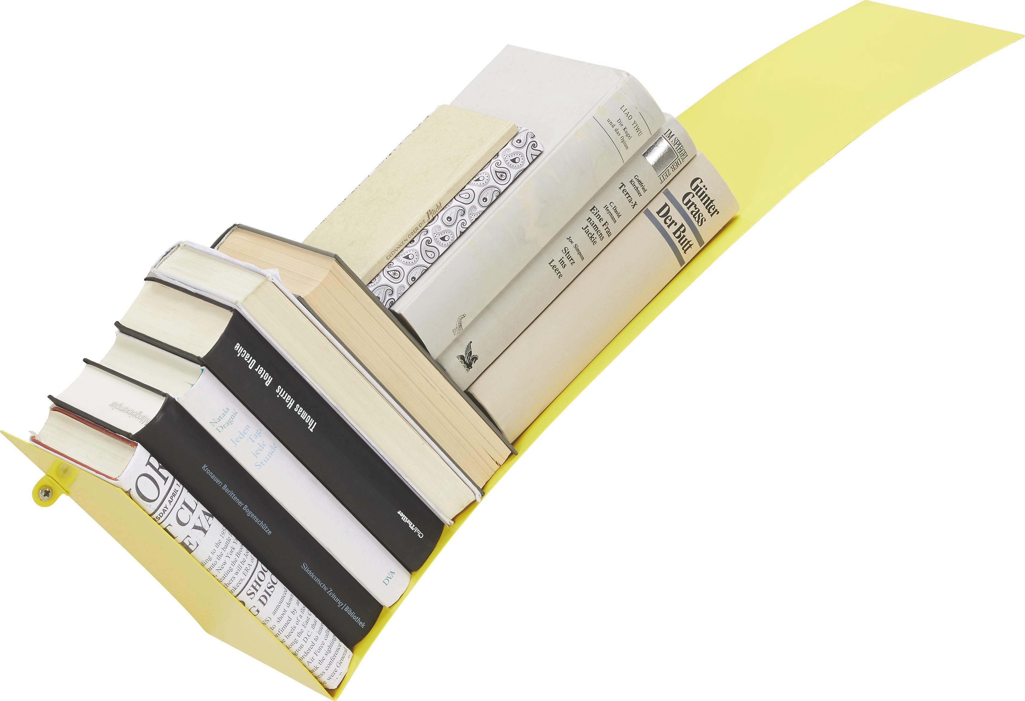 Falipolc Okay - sárga, fém (30/75/18cm) - MÖMAX modern living