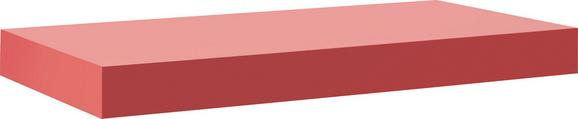 Polc Anja Rot   -sb- - piros, faanyagok (50/44/24cm)