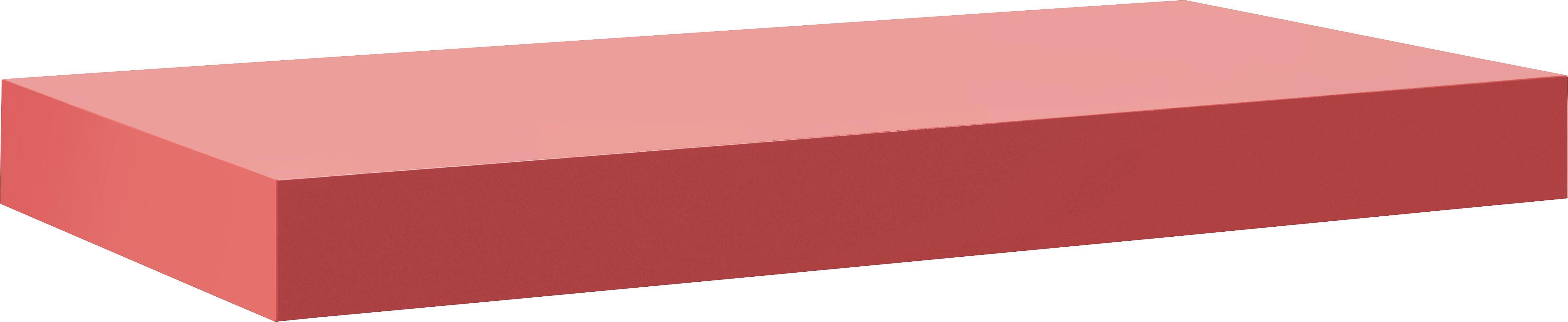 Wandboard in Rot - Rot, Holzwerkstoff (50/44/24cm) - MÖMAX modern living