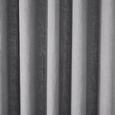 Vorhang Nikita aus Leinen ca.140x245cm - Hellgrau, Textil (140/245cm) - Bessagi Home