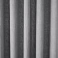 Vorhang Nikita aus Leinen ca.140x245cm - Hellgrau, Textil (140/245cm) - Mömax modern living