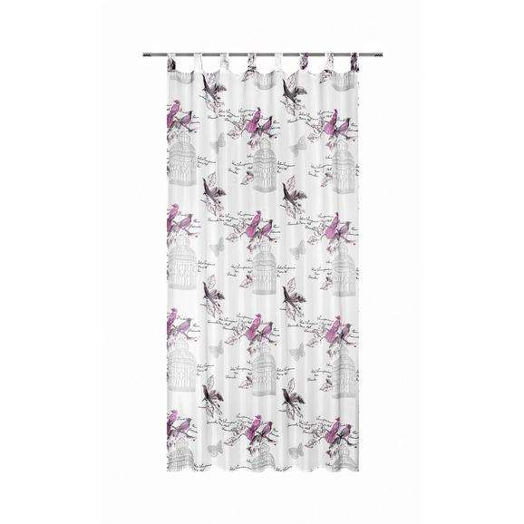 Schlaufenschal Romana, ca. 140x245cm - Pink, ROMANTIK / LANDHAUS, Textil (140/245cm) - Mömax modern living