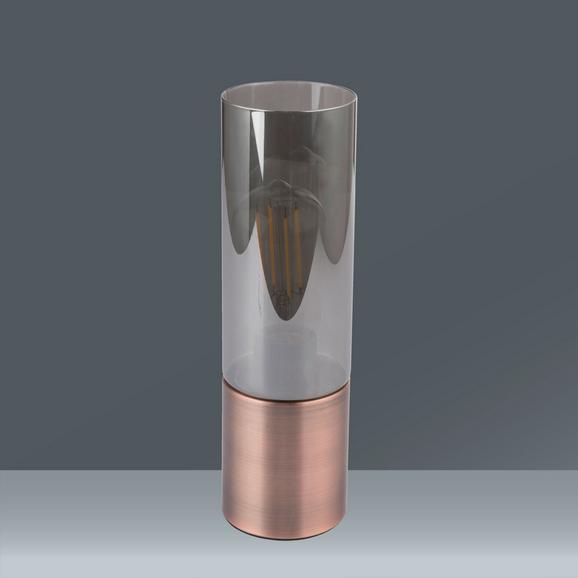 Tischleuchte Annika max. 25 Watt - Glas/Metall (9/30cm)