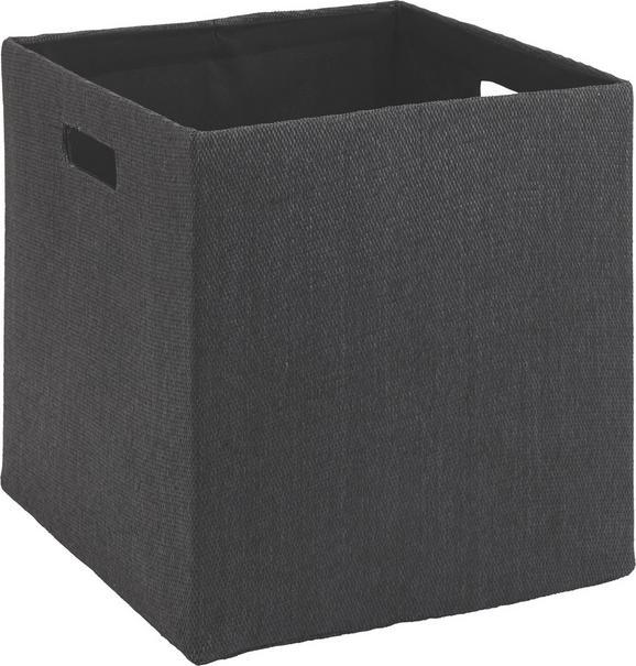 Aufbewahrungsbox Bobby - Anthrazit, MODERN, Textil (33/32/33cm) - Mömax modern living