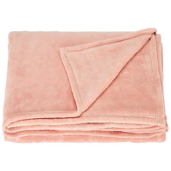 Pătură Pufoasă Kuschelix - Roz, Material textil (140/200cm)