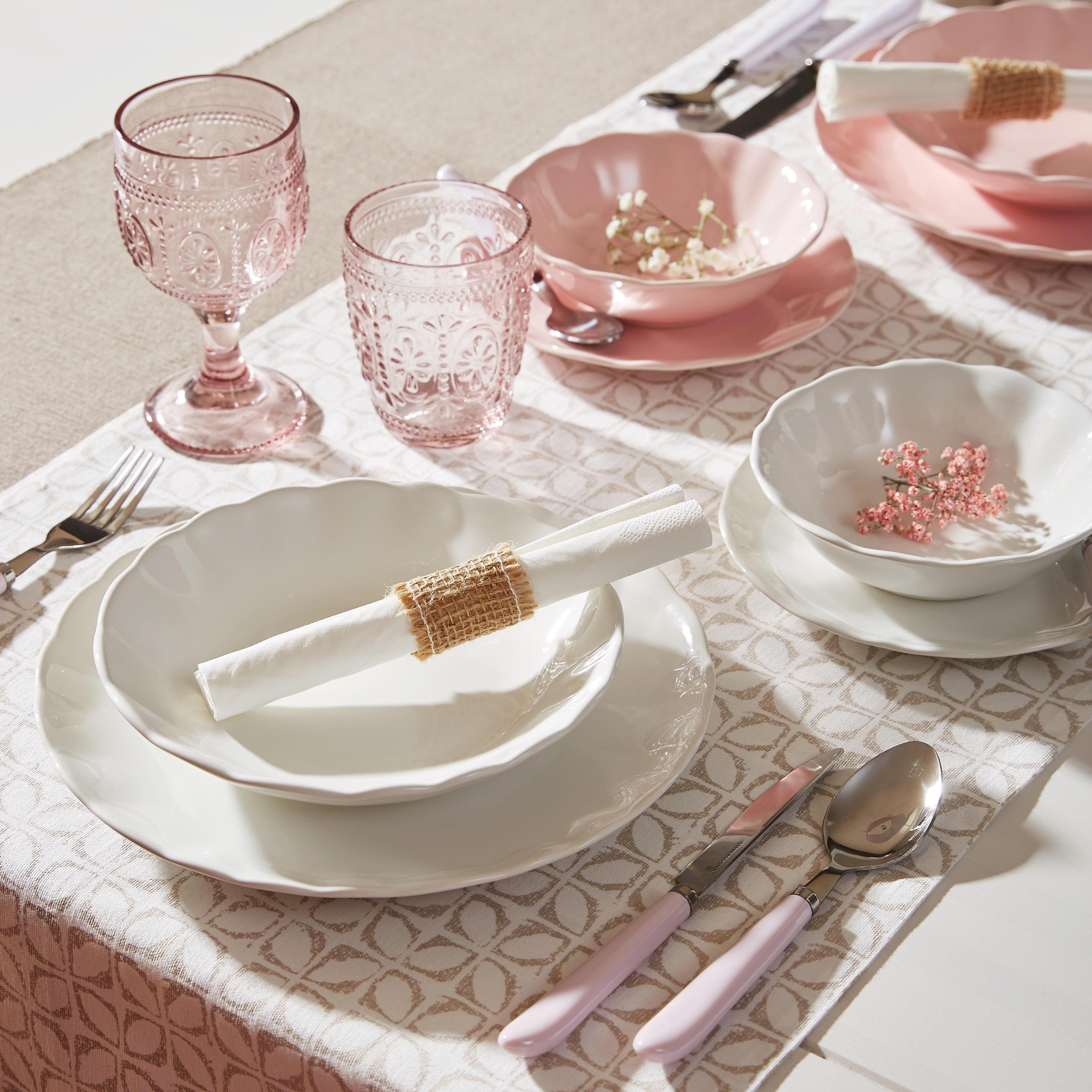 Schale Pauline in Rosa - Rosa, ROMANTIK / LANDHAUS, Keramik (15cm) - ZANDIARA