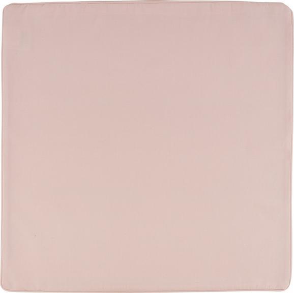 Prevleka Blazine Steffi Paspel - pastelno roza, tekstil (50/50cm) - Mömax modern living