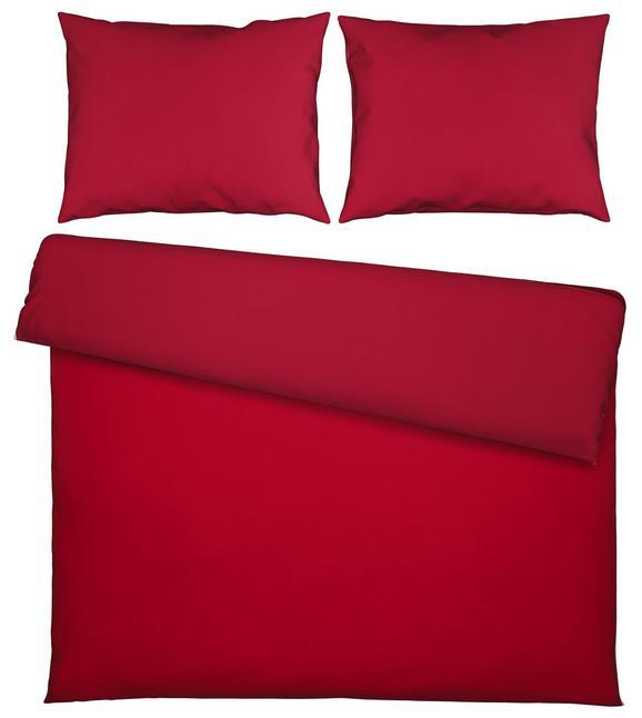 Ágyneműhuzat-garnitúra Belinda - Piros/Sötétvörös, Textil (200/200cm) - Premium Living