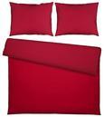 Posteljnina Belinda - rdeča/temno rdeča, tekstil (200/200cm) - Premium Living