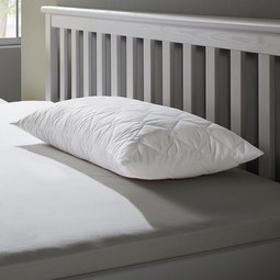 Nackenstützkissen Irisette 40x80 cm - Weiß, MODERN, Textil (40/80cm) - IRISETTE