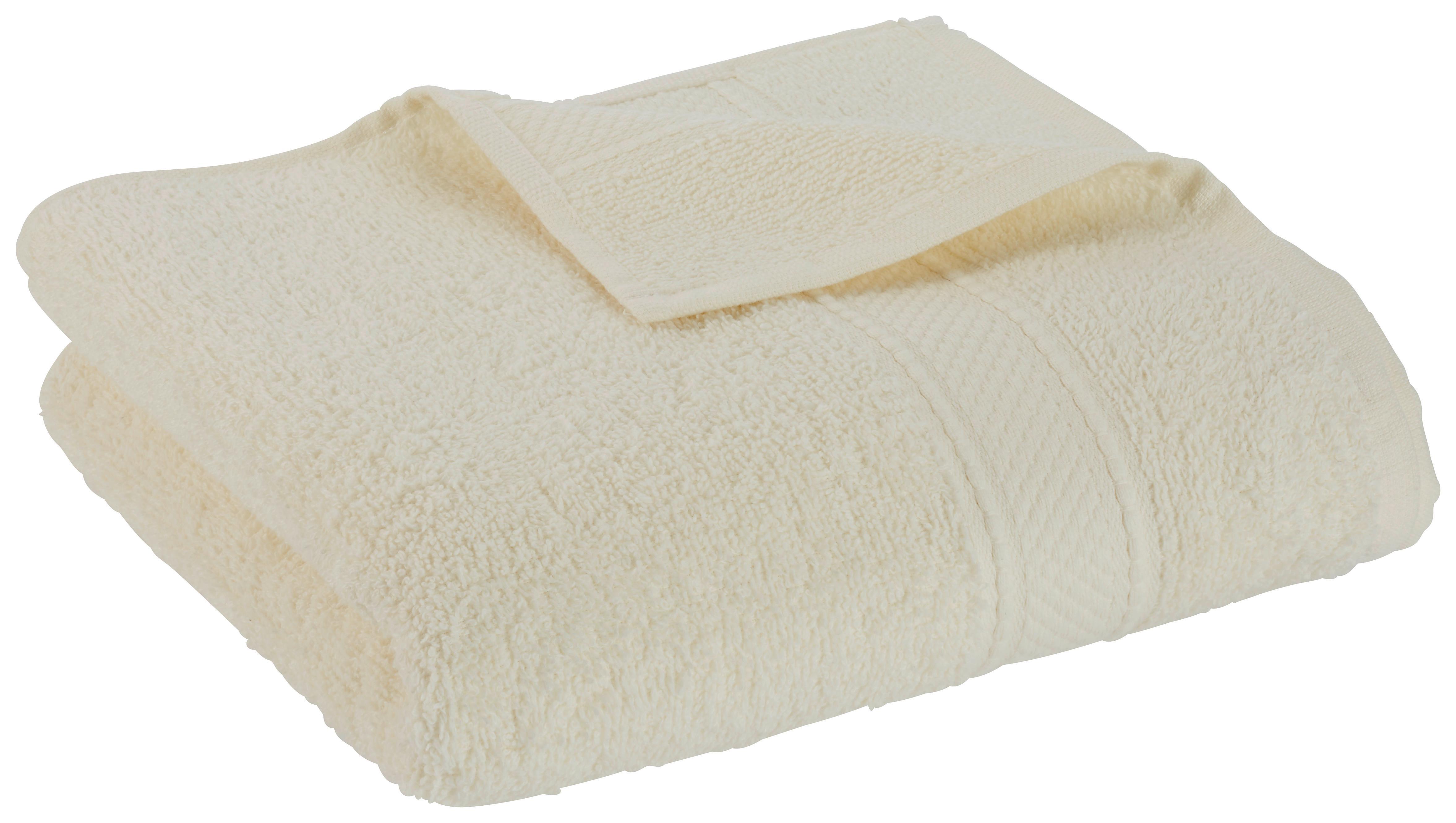 Handtuch Cindy in Offwhite ca. 50x100cm