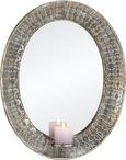 Spiegel Karmen ca. 43x54 cm - Silberfarben, MODERN, Glas/Metall (43/5,5/54cm) - Mömax modern living